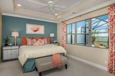 Relax after a long day in your exquisite master suite!