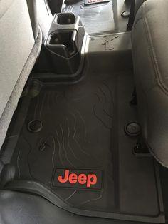Mopar All-Weather Front & Rear Floor Mats – Black Jeep Wrangler JL 4 Door) Mopar Jeep Wrangler All-Weather Front & Rear Floor Liners – Black Jeep Wrangler JL 4 Door) Black Jeep Wrangler, Jeep Wrangler Interior, Jeep Wrangler Lifted, Jeep Wrangler Rubicon, Lifted Jeeps, Mopar Jeep, Jeep Jl, Jeep Wrangler Accessories, Jeep Accessories