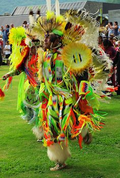 Eastern Band Cherokee- annual pow wow. Wish I could have been there.