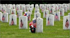 Visit Arlington National Cemetery and say a prayer for all the fallen soldiers and their families  DONE AUGUST 2012