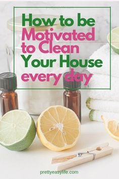 The best way to Keep Motivated to Clean Your House is to understand how we feel about performing these so called boring house chores and change the focus on our cleaning habits. It is is easier than we think! Cleaning Plan, Weekly House Cleaning, House Cleaning Tips, Deep Cleaning, Spring Cleaning, Cleaning Hacks, Cleaning Routines, Cleaning Checklist, Cleaning Schedules