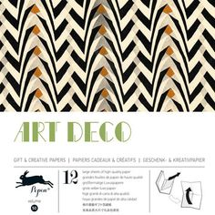 Art Deco Wrapping Paper, $14, now featured on Fab. [The Pepin Press]