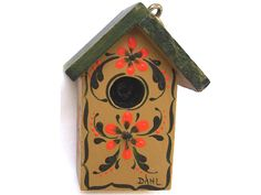 Bird House Gold *FREE S/H* (367c)