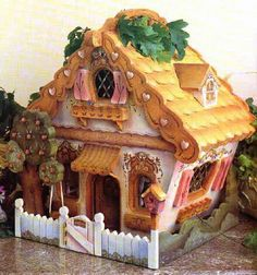 Hänsel&Gretel- I know this isn't an actual house, but i think it's a cool look to go for!!