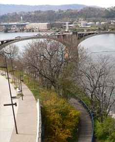 Tennessee Riverwalk and Market Street Bridge