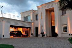 House Wall Design, House Outside Design, Village House Design, House Front Design, Model House Plan, My House Plans, Luxury House Plans, Modern Exterior House Designs, Dream House Exterior