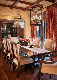 Beautiful Tuscan Dining Room decor