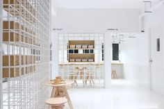 Butterfly Milk Bar, an architecture identified with the product to sell | More with less