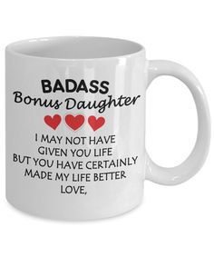 Badass Bonus Daughter Mug