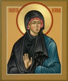 Naomi, mother-in-law of Ruth