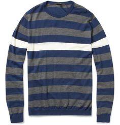 Gucci Striped Cashmere Sweater