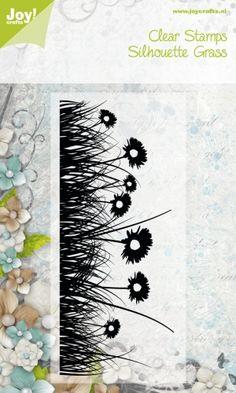 Noor! Design stempel Grass Silhouettes 6410/0530 1 st.