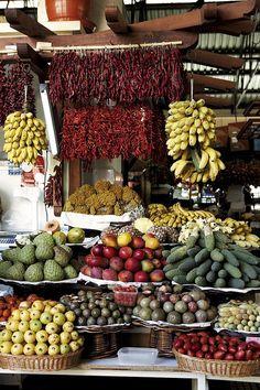Municipal Market/Mercado dos Lavradores in Funchal, Archipelago of Madeira #Portugal