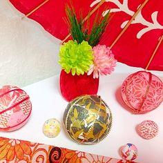 5分でできちゃう手毬(子どもも簡単!)お正月飾り、ひな祭り、七五三にも
