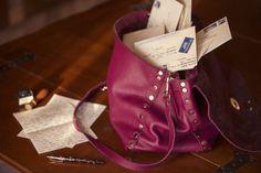 postina zanellato cashemere taupe prugna sfoderata bag purse borsa