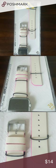 Apple Watch Band - Series 1 & 2 - 38mm - Case Mate New Case Mate Apple Watch Band  For Series 1 and 2 38mm edges Case Mate Accessories Watches