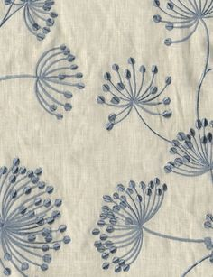 Meadow Linen fabric form Mulberry