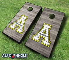 Cornhole Set with Team Bags - Appalachian State Mountaineers