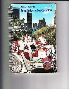1988-89 NEW YORK KNICKS YEARBOOK
