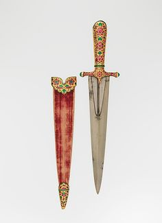 Indian dagger and sheath [1605-27]