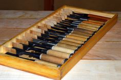 Daiku Dojo -- Woodworking How To's: Small Chisel Tray
