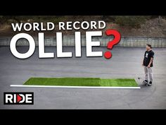 Wow! Jordan Hoffart Makes A World Record Ollie At 16ft 6in! - http://www.actionsportsdesk.com/wow-jordan-hoffart-makes-a-world-record-ollie-at-16ft-6in/