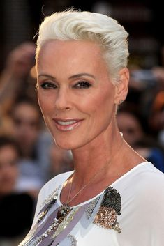 """Brigitte Nielsen attends the """"Eat, Pray, Love"""" UK premiere at the Empire Leicester Square on September 22, 2010 in London, England."""