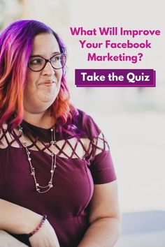 Answer a few quick and easy questions and I'll be able to provide you with the tools needed to improve your Facebook marketing at marketing-quiz.com