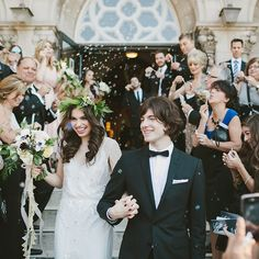 A Bubble Wedding Exit