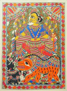 Fine art paintings art paintings and murals on pinterest for Asha ramachandran mural painting