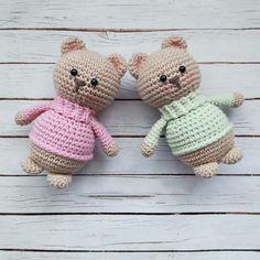 Cute Small Bear amigurumi pattern