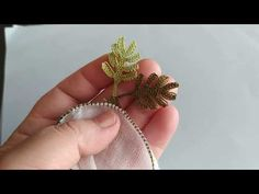Needle Lace, Hand Embroidery, Tatting, Knots, Needlework, Origami, Make It Yourself, Crafts, Youtube