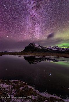 Iceland Night Lights by  Dwood Photography  on Flickr