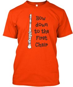 Clarinet - Bow Down to the 1st Chair