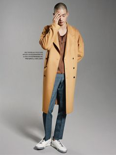 Park Sung Jin by Jung Ji Eun for Esquire Korea April 2015