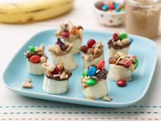 Turn a bunch of bananas into these simple treats from Food Network Kitchen. They're easy enough for kids to make and fun for the whole family to enjoy.