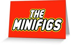 THE MINIFIGS in brick font by Customize My Minifig by ChilleeW