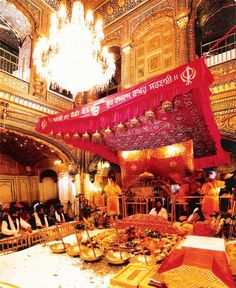 Inside the Golden Temple - The Most Attractive Places To Visit In India