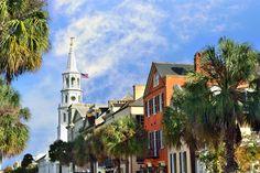 ***St. Michaels from Broad Street, Charleston, SC