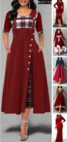 You want to celebrate Christmas? I have put together the best Christmas outfits for you . - Huge : You want to celebrate Christmas? I have put together the best Christmas outfits for you Christmas Outfits, Christmas Holiday, Christmas Ideas, Felt Christmas, Christmas Ornaments, African Fashion, Dresses Online, Beautiful Dresses, Cool Outfits