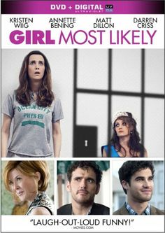 Girl Most Likely DVD ~ Girl Most Likely, After both her career and relationship hit the skids, Imogene is forced to make the humiliating move back home to New Jersey with her eccentric mother and younger brother. Adding further insult to injury, there's a strange man sleeping in her old bedroom, and an even stranger man sleeping in her mother's bed.