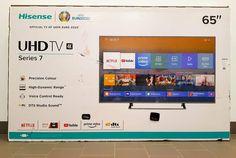 Mais um cliente satisfeito, com este TV UHD 4K de 65'' Obrigado por confiar na Digibarcel. 4k, Dynamic Range, Netflix, Thanks