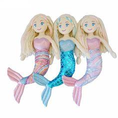 Plush Mermaid Dolls Kids toys, gift ideas