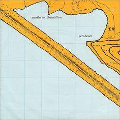 Martha and the Muffins Album Sleeve - Peter Savile