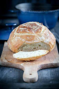 Chleb wiejski Hamelmana How To Make Bread, Food To Make, My Favorite Food, Favorite Recipes, Beef Pasta, Polish Recipes, Polish Food, Pan Bread, Bakery