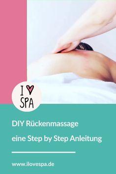Diy rückenmassage in 5 griffen Massage Tips, Massage Techniques, Massage Therapy, Massage Pressure Points, Diy Spa, Weight Lifting, Yoga Fitness, Relax, Motivation