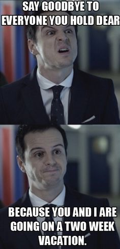 Misleading Moriarty. I would probably take him up on that  offer!