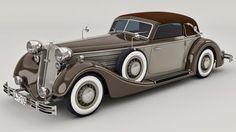 1937 Horch 853A Sport Cabrio by *SamCurry on deviantART