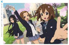 Mio, Ritsu, Yui // K-on!