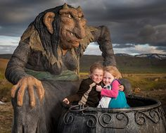 Icelandic Mountain Troll, Grýla: Nothing says holiday fun like child-eating ogresses. - - - - - - - - - - - - (© Arctic-Images/Corbis)